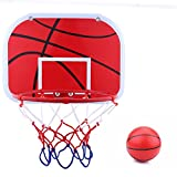 Mini Kids Basketball Hoop Set - Portable Sports Toy with Air Pump Indoor Outdoor Games