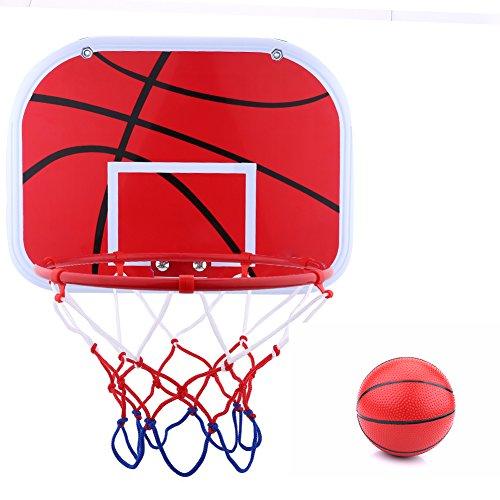 Asixx Mini Juego de Baloncesto con Tablero, Canasta de Baloncesto para Niños,de Hierro Y Plástico,para Los Niños Jugar