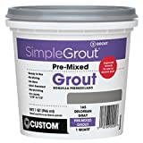 Custom PMG381QT 1-Quart Simple Premium Grout, Bright White