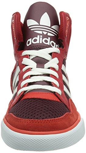 White mujer running Adidas Rot light poppy Hombre Extaball Maroon Zapatillas FRRwq18