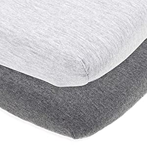 Cuddly Cubs Fitted Playard Sheets for Graco Pack n Play Mattress, Joovy, Chicco Lullaby and Other Playpen, Portable Travel Cribs, Play Yards and Mini Crib