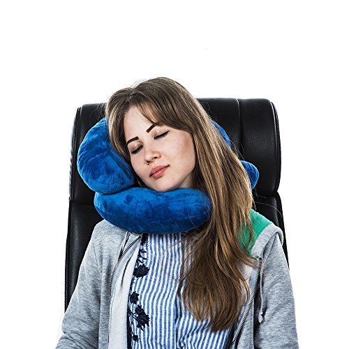 Baby U-shaped Neck Pillow Travel Pillow Car Seat Cushion(Pink) - 6