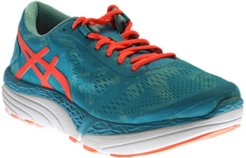 ASICS Women's 33-M 2 Running Shoe, Aquarium/Flash Coral/Aruba Blue, 9.5 M US by ASICS