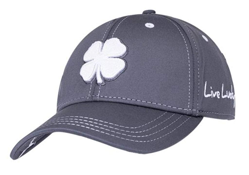 a0918905dfb Black Clover Mens Premium Clover  26 White Grey Grey Small Medium Fitted Hat  - 617353831542 at Amazon Men s Clothing store