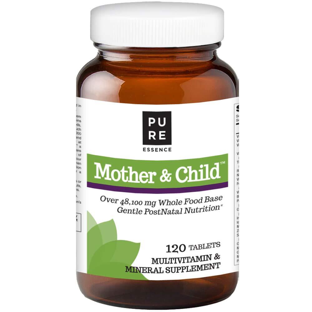 Pure Essence Labs Mother and Child - Master PostNatal Formula - 120 Tablets