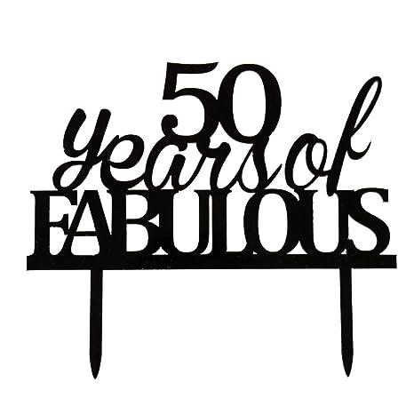 Amazon.com: 50 años de fabulosa decoración para tartas ...