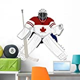 Team Canada Hockey Goalie Wall