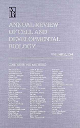 Annual Review of Cell and Developmental Biology, Vol. 20 with Online Access