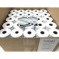 Freccia Rossa Market, Thermal Receipt Paper, 3-1/8 X 230, White, 50 Rolls/pk, Special Kit (Includes 3 Mag-Stripe Cleaner Cards)