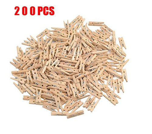 GCA Wooden Scrapbooking Crafts Clothespins product image