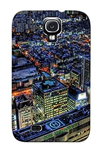 Durable Protector Case Cover With Seoul At Night Hot Design For Galaxy S4 (ideal Gift For Lovers)