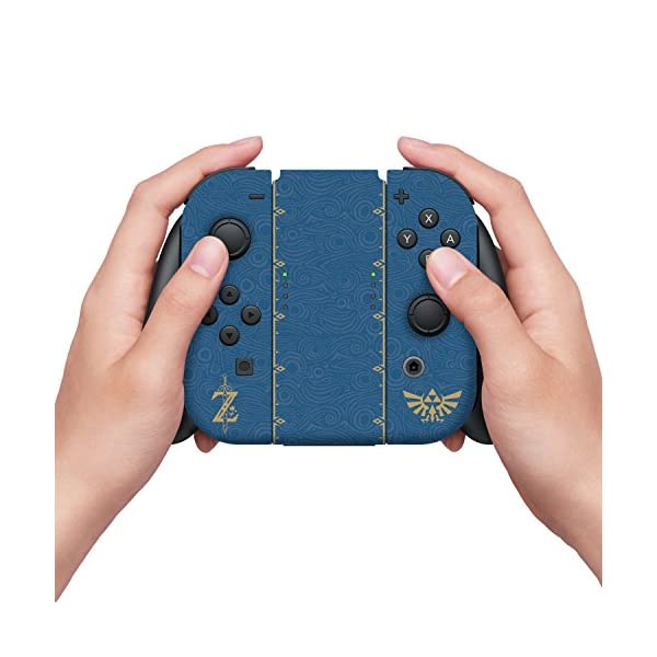 """Controller Gear Nintendo Switch Skin & Screen Protector Set, Officially Licensed By Nintendo - The Legend of Zelda Breath of the Wild """"The Legend of Zelda"""" - Nintendo Switch 3"""