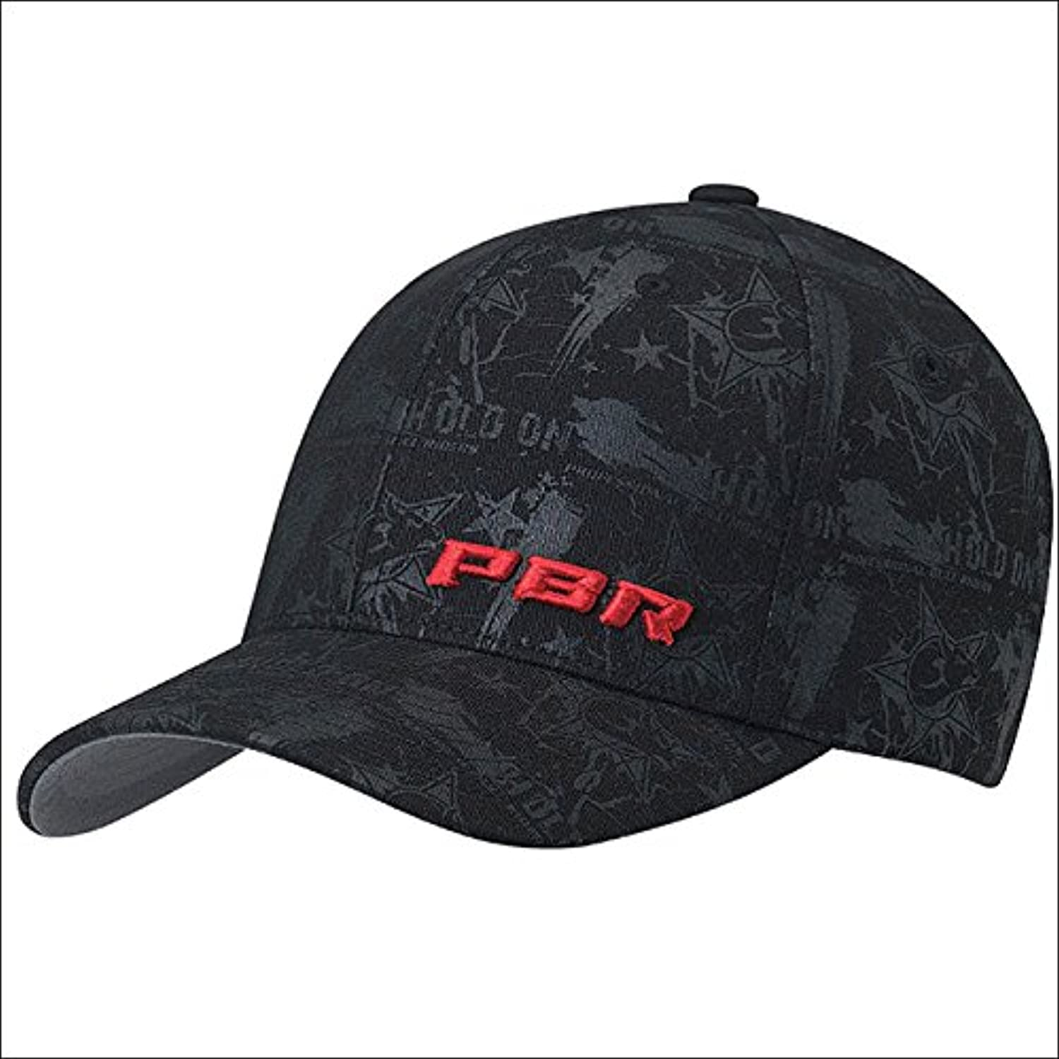 EXTRA LARGE ADJUSTABLE PBR LOGO MENS COWBOY FLEX FIT HOLD ON BASEBALL CAP