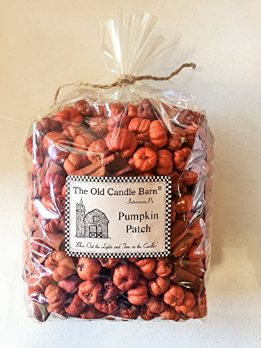 Pumpkin Patch Large Bag - Putka Pods Mini Pumpkins with Mini Cinnamon Sticks - Potpourri or Decoration - Made In The USA by Old Candle Barn