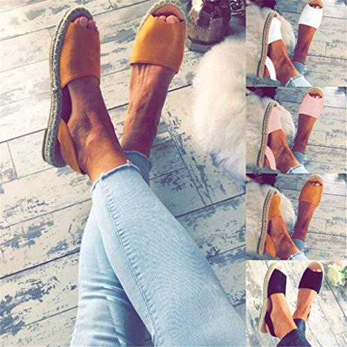 Marron Worsworthy Bianche Pantofole Sandali Con Pietre Chiusi Scarpe Basso Tacco Legno Da Plateau Sandalo Camera Donna 88zwZaqr