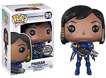 Funko POP! Games Pharah Overwatch Blizzard Exclusive #95 Vinyl Figure