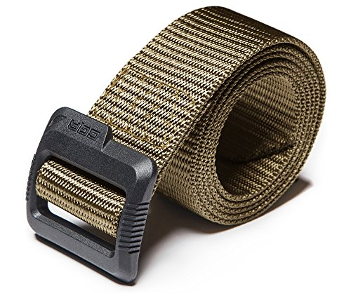 CQ-MZT01-KHK_M(w32-34) CQR Tactical Nylon Webbing EDC Duty Belt 1.5 100% Full Refund Assurance' MZT01