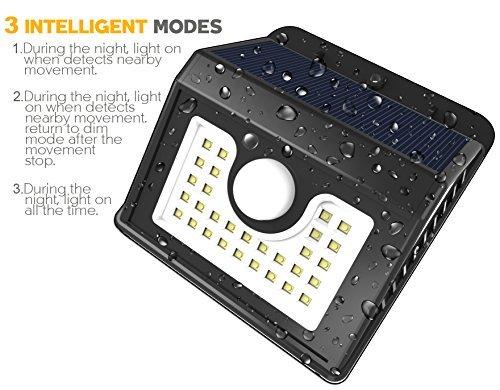 Vivii Solar Lights 30 Led Bright Led Security Lighting
