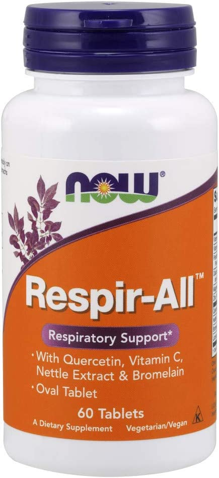 NOW Supplements, Respir-All, 60 Tablets