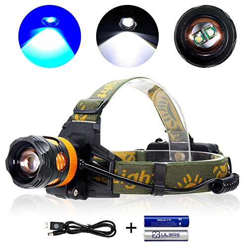 Headlamp Flashlight Lightweight Headlight Rechargeable