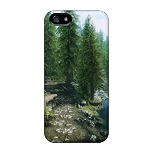 Skyrim Forest Cases Compatible With Iphone 5/5s/ Hot Protection Cases