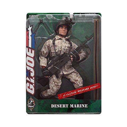 GI Joe Desert Marine 1 6th Scale 12 Action Figure (Asian Variant) by G. I. Joe