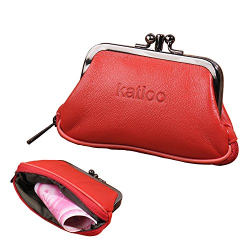 Katloo Womens Leather Change Wallet product image