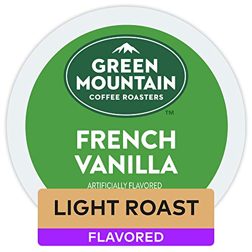 - Green Mountain Coffee Roasters, French Vanilla, Keurig K-Cups, 72 Count