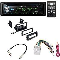 Car Radio Stereo CD Player Dash Install Mounting Trim Panel Kit Harness Antenna For Select Buick Cadillac Chevrolet Gmc Hummer Isuzu Oldsmobile Pontiac Vehicles