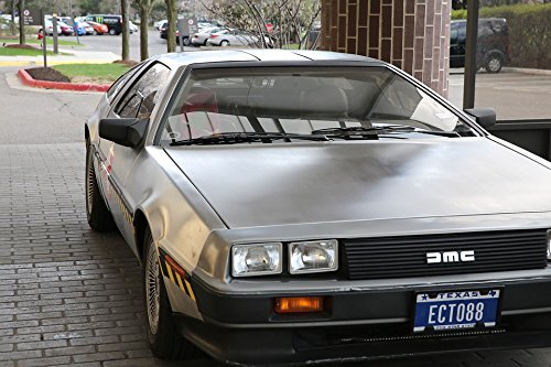 Home Comforts LAMINATED POSTER Delorean Dmc-12 Ecto88 Classi