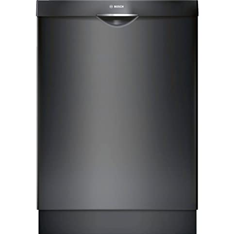 white kitchen with black appliances amazoncom bosch shs863wd6n 300 series built in dishwasher with 5