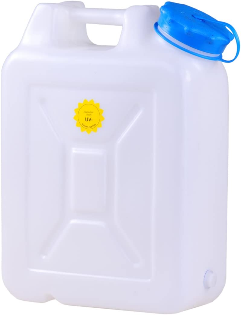 HD-PE Natural-Coloured Hunersdorff 817100 H/ünersdorff Weithalskanister Wide-Mouth jerrycan 5 L with UV Protection