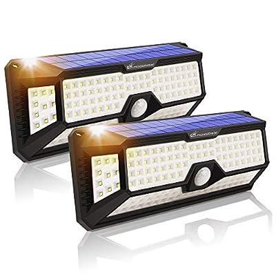 LED Solar Motion Sensor Light Outdoor