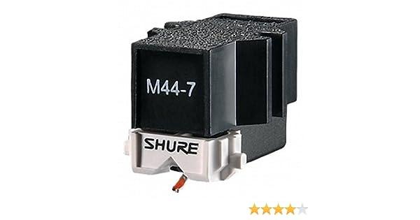 Shure M44-7 - stylus para tornamesas: Amazon.es: Electrónica