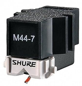 Amazon.com: Shure M44-7 - Cartucho para tocadiscos de DJ ...