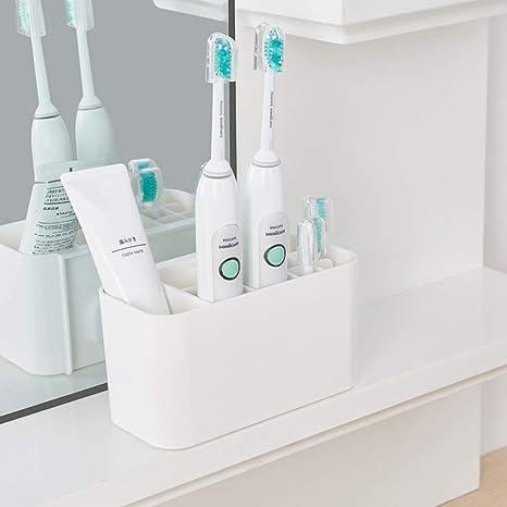 Soporte para cepillo de dientes eléctrico, soporte de plástico para baño, cepillo de dientes