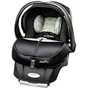 Evenflo Advanced Embrace DLX Infant Car Seat with Sensorsafe, (Peridot)