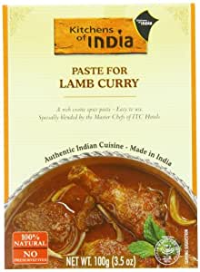Kitchens of India Recipe Paste, Lamb Curry, 3.5 Ounce (Pack of 6)