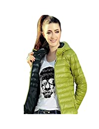 Changeshopping Women Candy Color Thin Slim Down Coat Jacket 1-2 size smaller