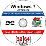 Windows 7 All-in-One All Versions 32/64-Bit Repair, Reinstall, Restore Disc фото