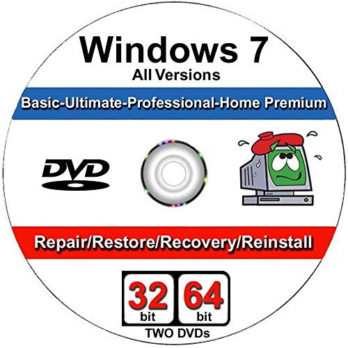 Windows 7 All-in-One All Versions 32/64-Bit Repair,
