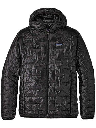 Patagonia Men's Micro Puff Hoody Jacket Black Size 2XL -