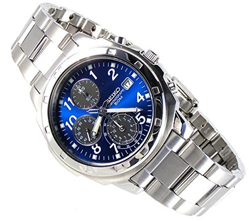 Seiko-SEIKO-Mens-Chronograph-Watch-analog-stainless-SND193P1-parallel-import-goods