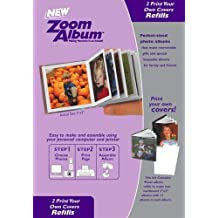 "Zoom Album Two 3x3"" Photo Covers Refill"