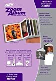 """Zoom Album Two 3x3"""" Photo Covers Refill"""