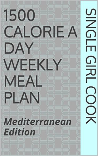 1500 Calorie Weekly Meal Plan ebook product image