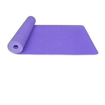 XIAHE Estera De Yoga Violeta TPE183 * 80cm * 0.6 Mm De ...