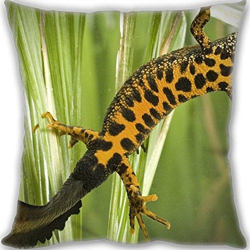 - HARLAN triton feet tail Throw Pillow Custom Zippered Leaning Cushion 45x45cm(18x18inch) Normal Size 450g(1lb) (Two sides Print)
