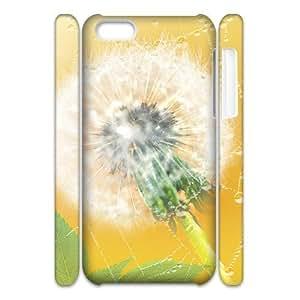 linJUN FENGDandelion Custom 3D Cover Case for iphone 6 plus 5.5 inch,diy phone case ygtg516218