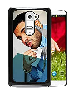 Beautiful Designed Cover Case For LG G2 With drake 3 Black Phone Case